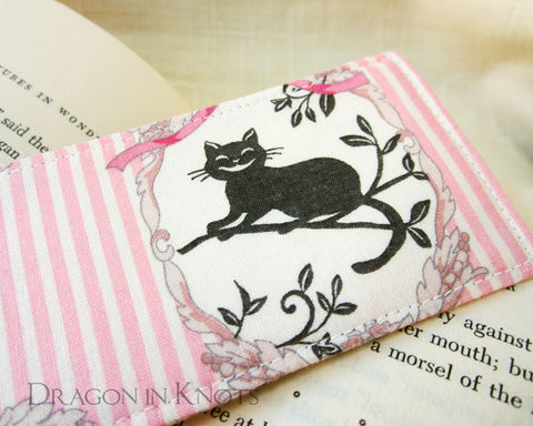 Cheshire Cat Bookmark - Dragon in Knots handmade accessory
