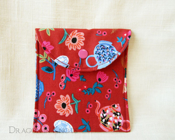 Mad Hatter's Tea Wallet - Dragon in Knots - Accessory Pouches