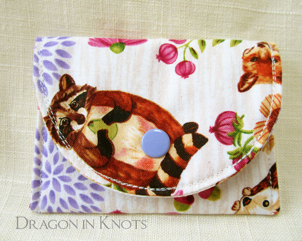 Squirrel Card Wallet - Dragon in Knots - Card Wallets