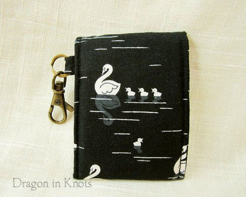Swan and Cygnets Mini Essentials Pouch - Dragon in Knots - Lip Gloss Pouches