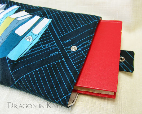 The To-Be Read Pile - Book Sleeve - Dragon in Knots handmade accessory