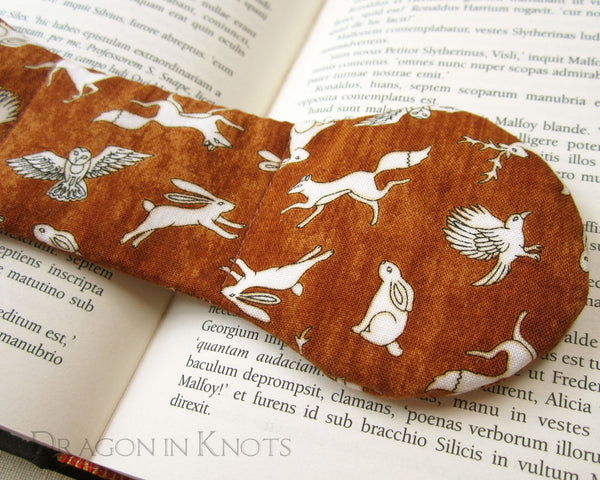 Wild and Wise Book Weight - Dragon in Knots handmade accessory
