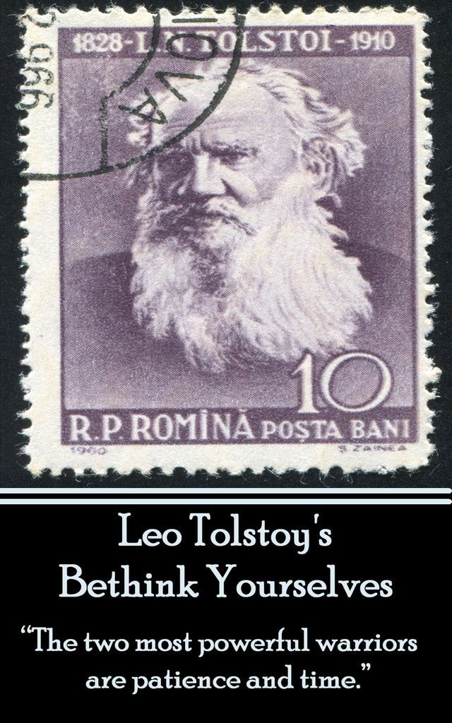 Leo Tolstoy - Bethink Yourselves (Ebook) - Deadtree Publishing - Ebook - Biography