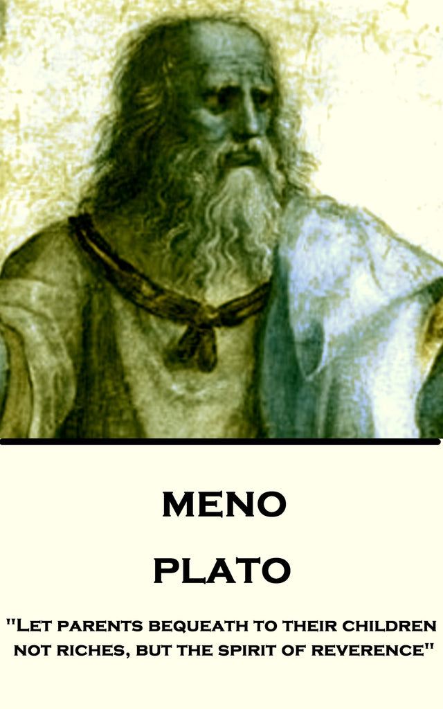 Plato - Meno (Ebook) - Deadtree Publishing - Ebook - Biography
