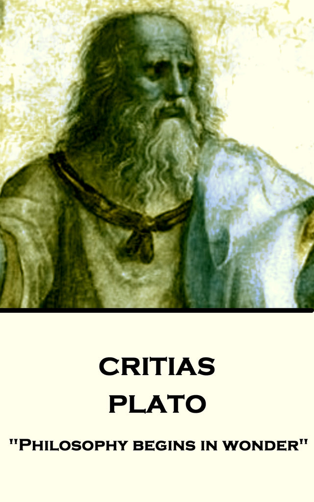 Plato - Critias (Ebook) - Deadtree Publishing - Ebook - Biography