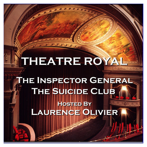 Theatre Royal - The Inspector General & The Suicide Club : Episode 10 (Audiobook) - Deadtree Publishing
