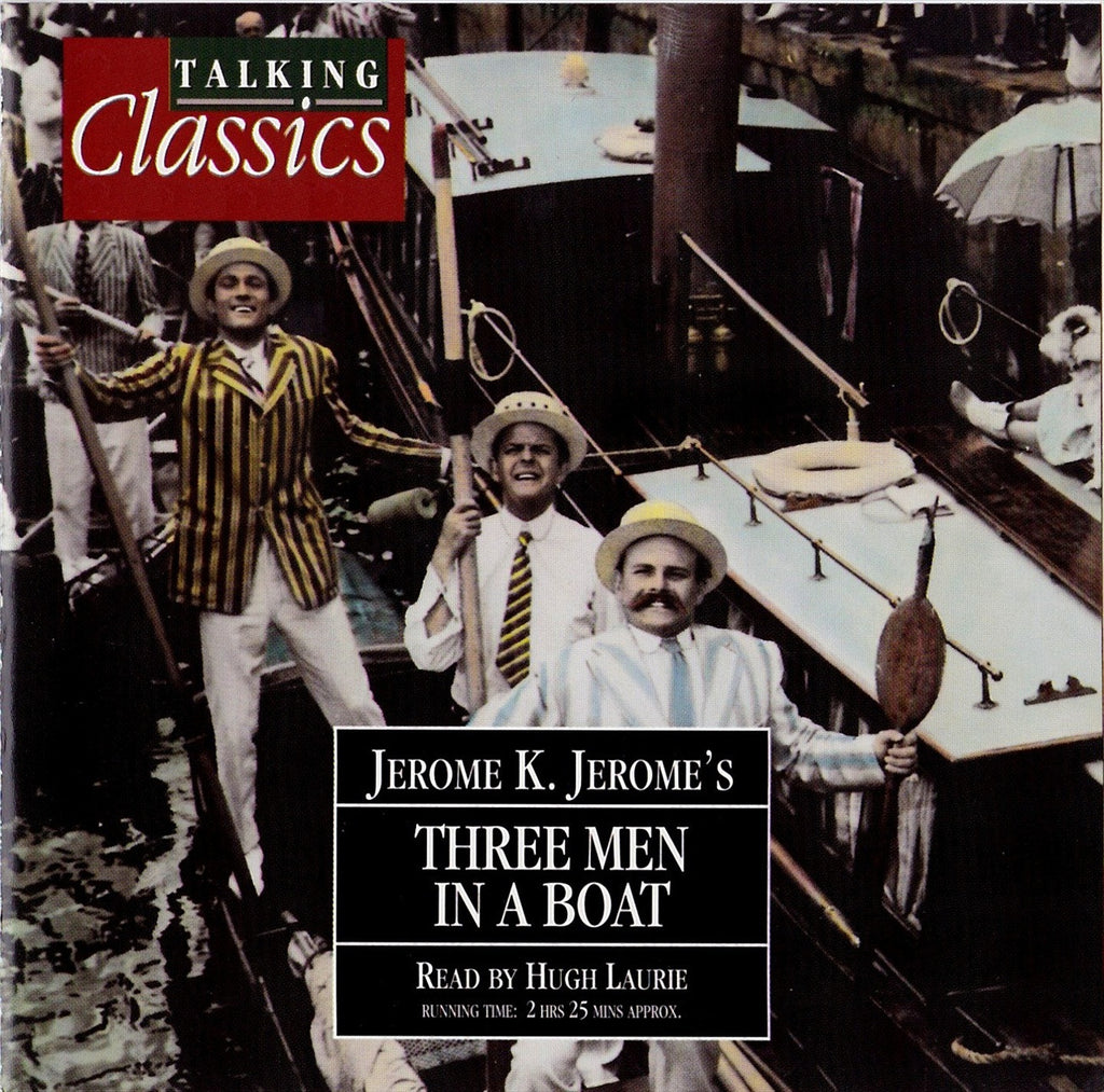 Jerome K. Jerome - Three Men In A Boat (Audiobook) - Deadtree Publishing - Audiobook - Biography