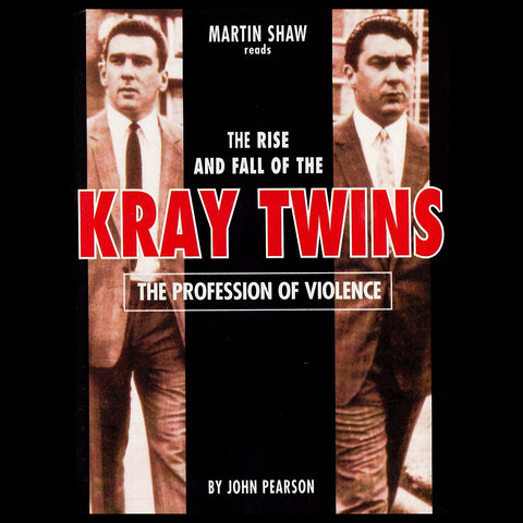 The Profession of Violence: The Rise and Fall of the Kray Twins (Audiobook) - Deadtree Publishing - Audiobook - Biography