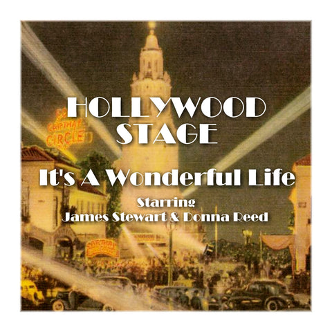 It's A Wonderful Life - Hollywood Stage (Audiobook) - Deadtree Publishing