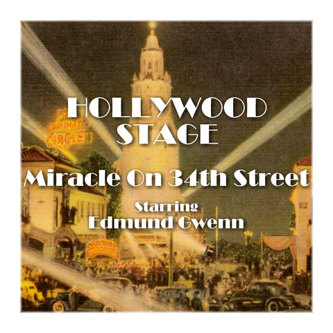 Miracle On 34th Street - Hollywood Stage (Audiobook) - Deadtree Publishing
