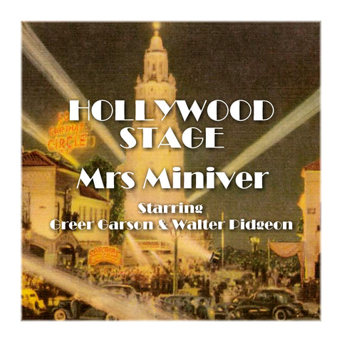 Mrs Miniver - Hollywood Stage (Audiobook) - Deadtree Publishing