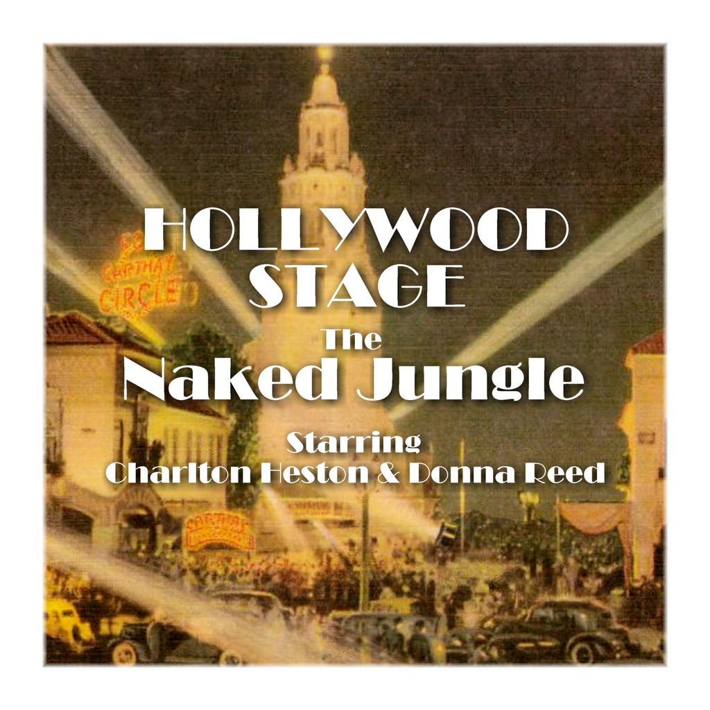 The Naked Jungle - Hollywood Stage (Audiobook) - Deadtree Publishing - Audiobook - Biography