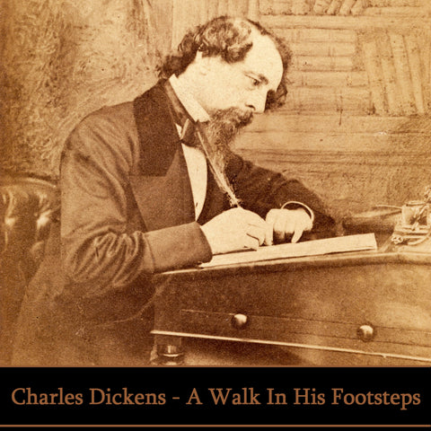Charles Dickens - A Walk In His Footsteps (Audiobook) - Deadtree Publishing - Audiobook - Biography