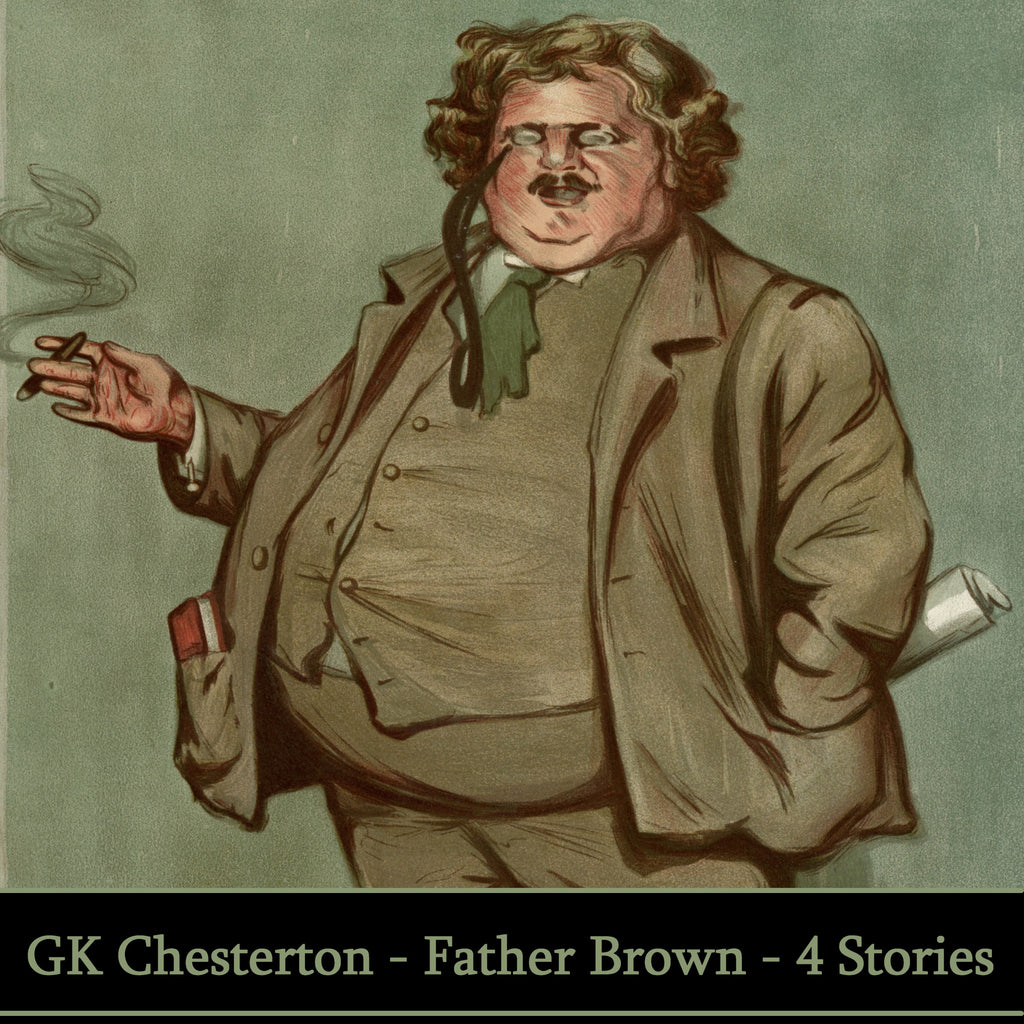 GK Chesterton - Father Brown (Audiobook) - Deadtree Publishing - Audiobook - Biography