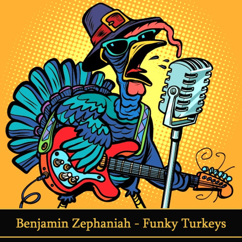Benjamin Zephaniah - Funky Turkeys (Audiobook) - Deadtree Publishing - Audiobook - Biography