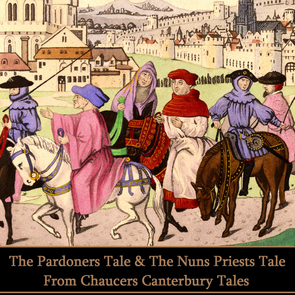 Geoffrey Chaucer - The Pardoner's Tale & The Nun's Priest's Tale (Audiobook) - Deadtree Publishing - Audiobook - Biography
