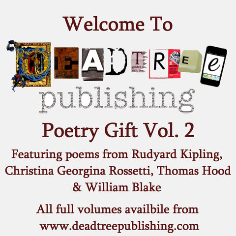 Welcome To Deadtree Publishing - Poetry Vol. 2 - Deadtree Publishing