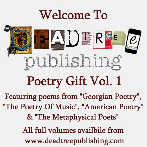 Welcome To Deadtree Publishing - Poetry Vol. 1 - Deadtree Publishing - Audiobook - Biography