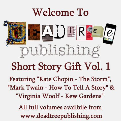 Welcome To Deadtree Publishing - Short Stories Vol. 1 - Deadtree Publishing - Audiobook - Biography