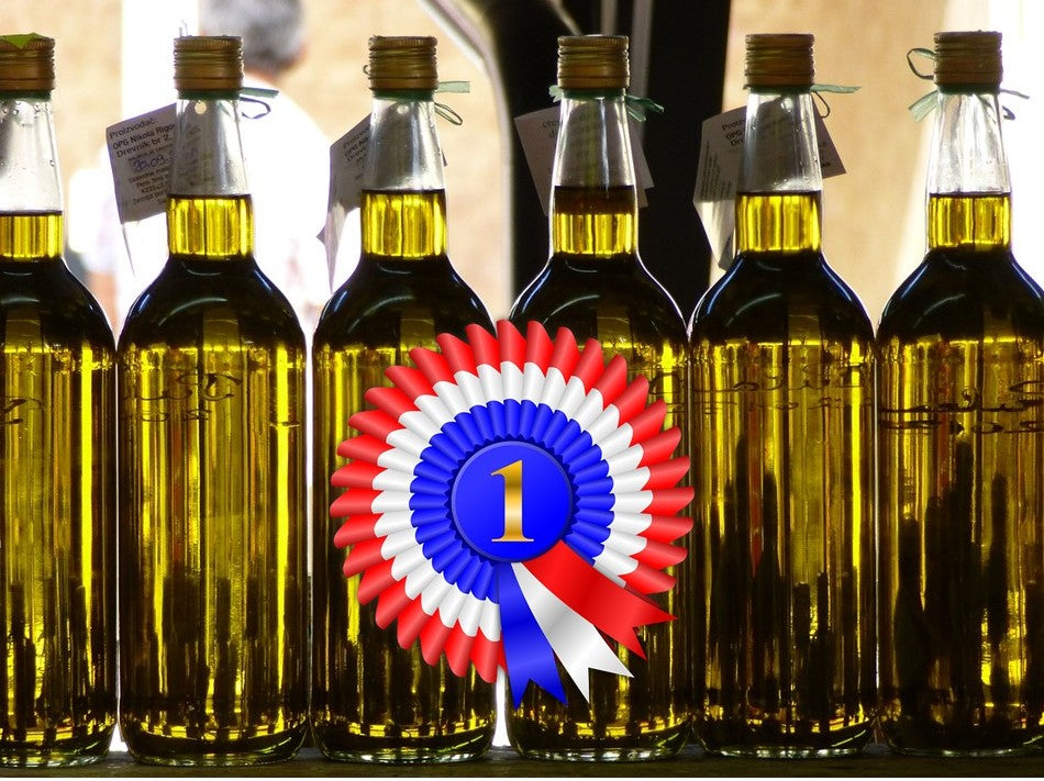 "Battle to be the ""World's Best Extra Virgin Olive Oil"" – and why this is misleading."