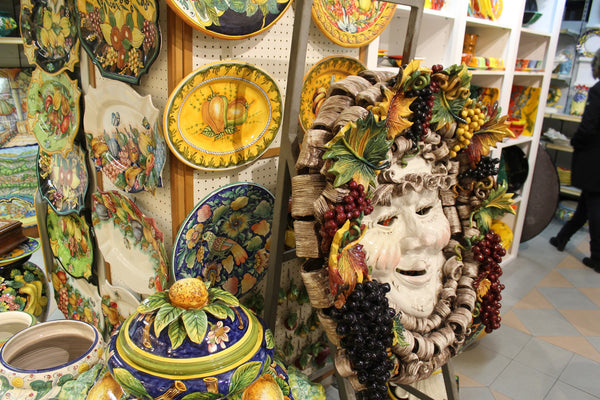 Exploring Italian Ceramics on the Amalfi Coast of Italy