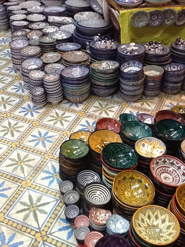Types of ceramics in Morocco (and Portugal)