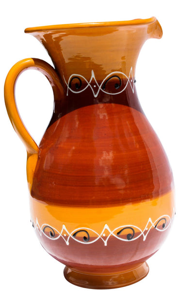 Spanish Sunset 2 Quart Pitcher - Hand Painted From Spain