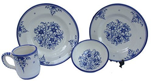 Spanish Talavera Dinnerware Set