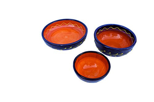 Luna dipping bowl set of 3 - Cordoba Collection