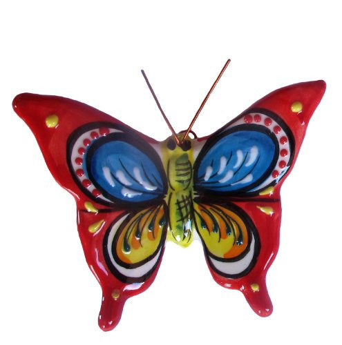 Butterfly - ceramic, hand painted in Spain