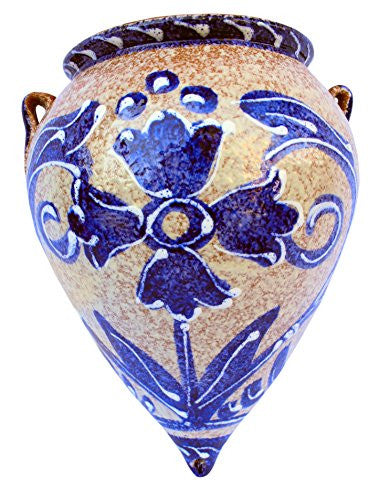 Orza de pico - traditional Spanish blue - from Cactus Canyon Ceramics