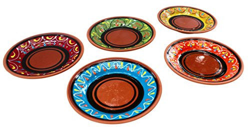 Terracotta tapa plates - from Cactus Canyon Ceramics