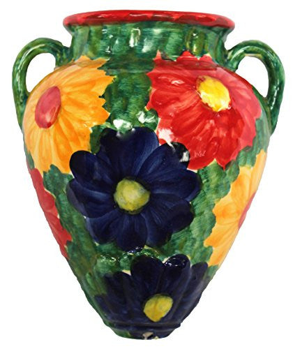 Spanish wall tinaja - Primavera design from Cactus Canyon Ceramics
