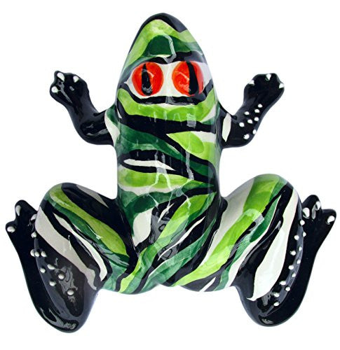 Mr. Green Tiger Frog - hand painted in Andalusia, Spain