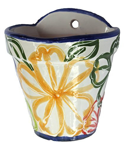 Wall pot from Spain - Spanish Flor design