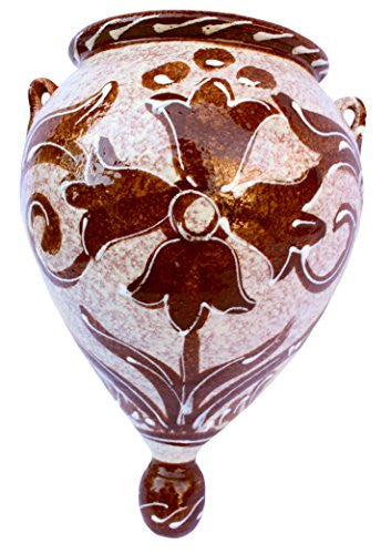 Traditional Spanish brown design - from Cactus Canyon Ceramics