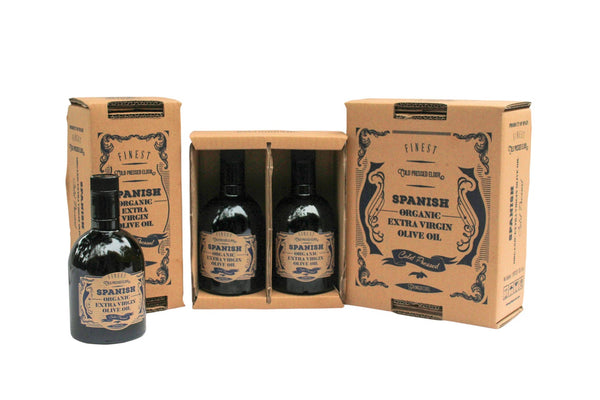 Organic Extra Virgin Olive Oil set for sale