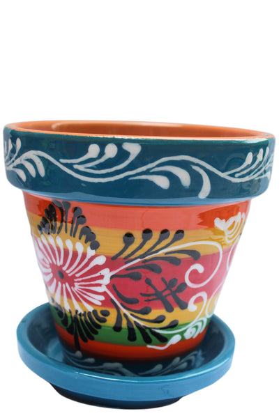Mexican planter for sale via Cactus Canyon Ceramics