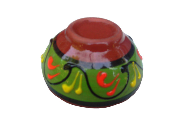 Terracotta Mini-bowl Set of 5 - Hand Painted From Spain