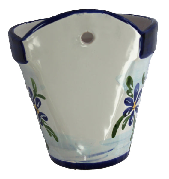Wall Hanging Flower Pot - Spanish Sky
