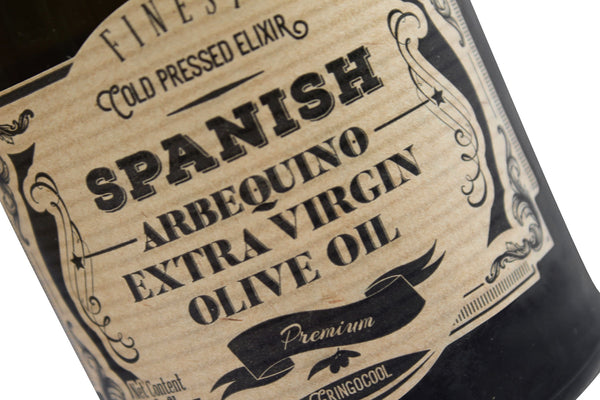 Arbequina Spanish Extra Virgin Olive Oil bottle
