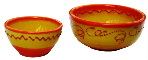 Sol set of Salsa & Condiment bowls - from Cactus Canyon Ceramics