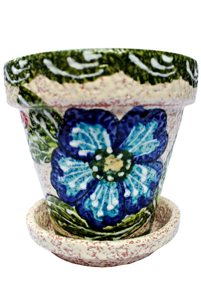 Flower pot from Spain - with a saucer