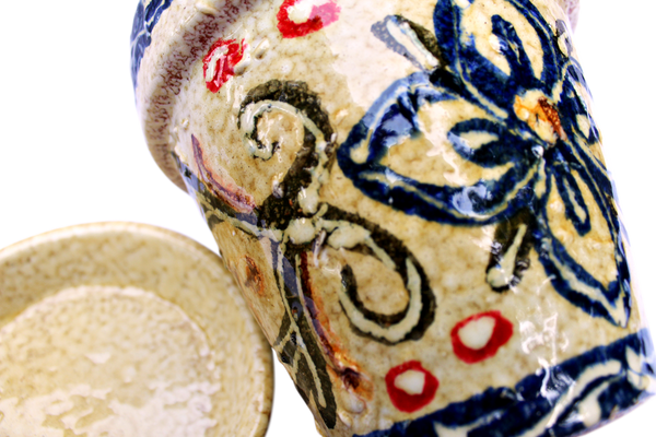 Detail from Spanish flower pot - for sale online