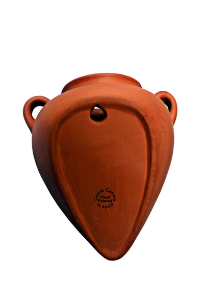 Wall Hanging Planter - Spanish Wall Tinaja - Terracotta