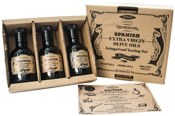 Foodie set of extra virgin olive oils