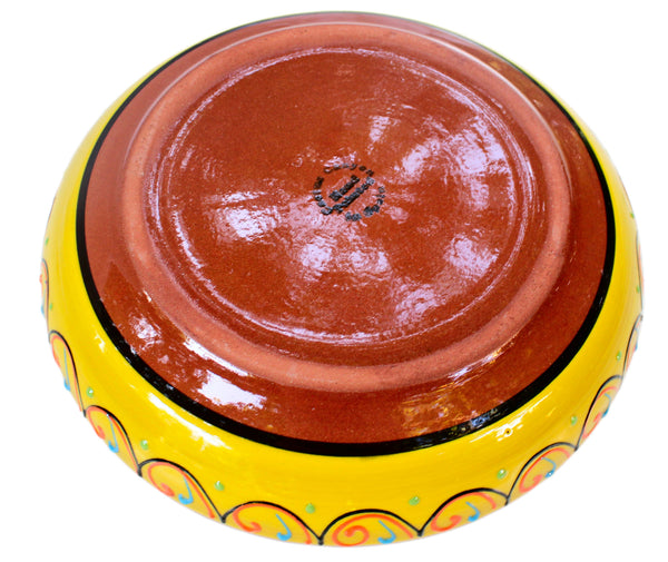 Terracotta Yellow, Serving Dish - Hand Painted From Spain