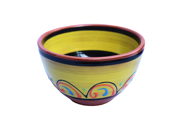 Terracotta Salsa Bowl Set of 5 - Hand Painted From Spain