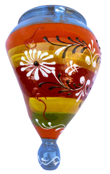 Wall Planter - Spanish Orza (Spanish Rainbow) - Hand Painted in Spain