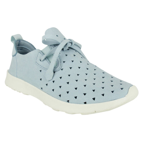 Not Rated Womens Laser Cut Fashion Sneaker